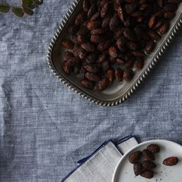 Spicy Hot Cocoa Almonds