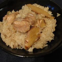 Add exotic flavor to the table-- Taiwanese style Sesame oil Chicken Rice