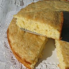 Rustic Italian Lemon Cake