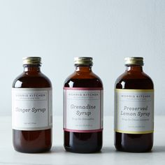 Cocktail Syrups Gift Set
