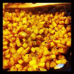 Abe's fabulous Saturday Potatoes