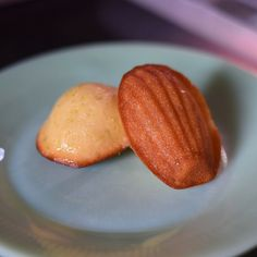 Lime Coconut Madeleines