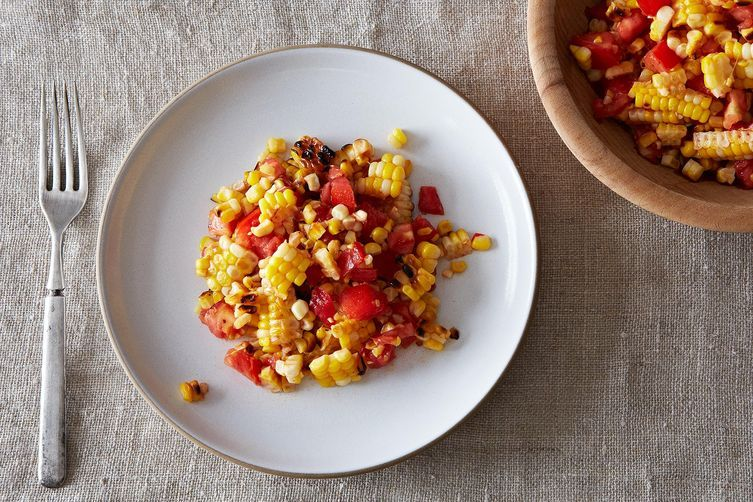 Corn and Tomato Salad from Food52
