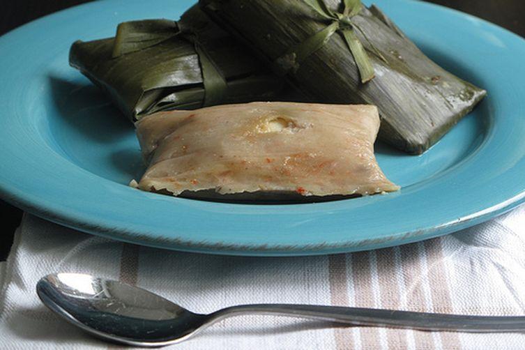 Moinmoin - Nigerian Stemed Bean Cake