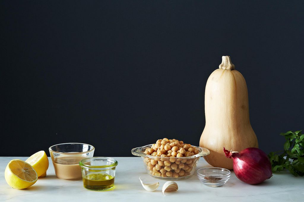 Moro's Warm Squash & Chickpea Salad from Food52