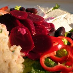 Patatosalata (for Greek Salads)
