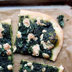 Double Kale Pizza