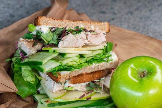 Scout's Signature Tuna Sandwich