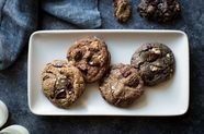 Gluten-Free Chocolate Chip Cookies, with Oat, Buckwheat, Teff, or Mesquite Flour