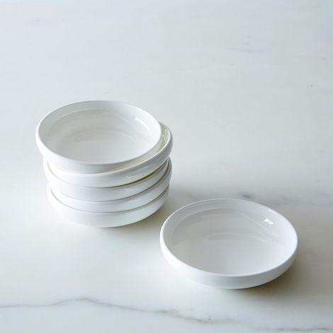 Purio White Condiment Bowls (Set of 6)