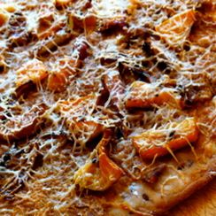 Curried Butternut Squash Pizza