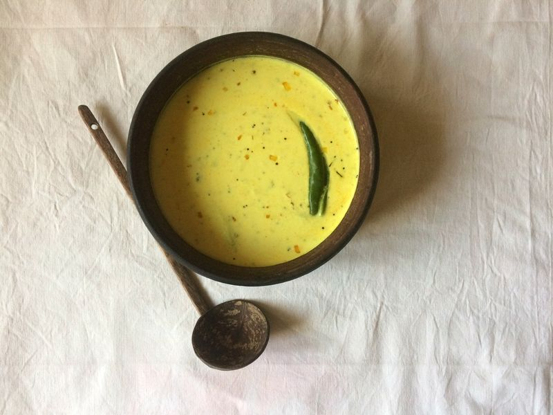 Kachimoru (Keralan Spiced Yogurt Curry)