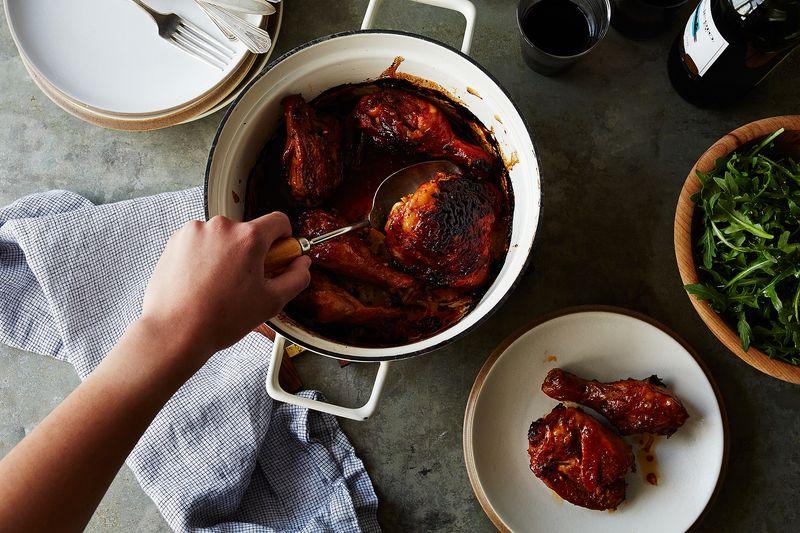 Sambal Oelek Roasted Chicken