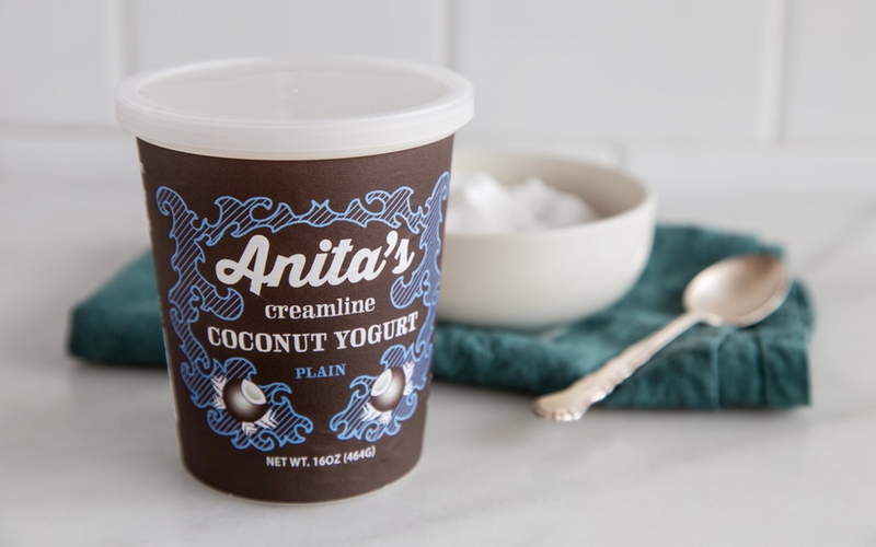 The original Anita's packaging, as designed by Anita herself.