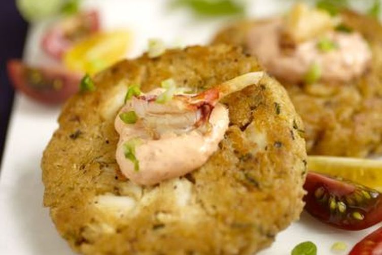 East Coast Crab Cakes With Spicy Remoulade Recipe — Dishmaps