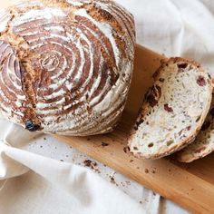 Cherry-Hazelnut Yeast Bread