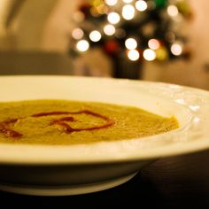 Moroccan Butternut Squash Soup