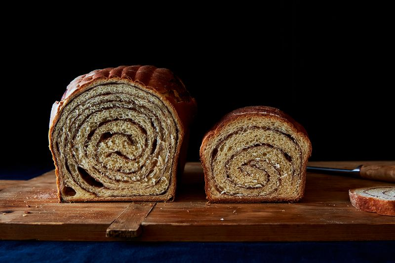 Maida Heatter's Mile-High Cinnamon Bread