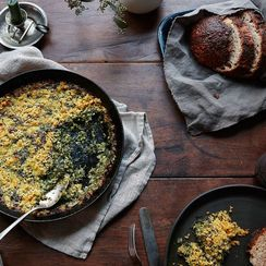 A Steakhouse Dinner—For Vegetarians, Made At Home