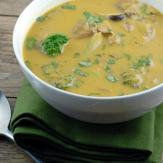 Thai Vegetable Soup