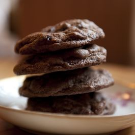 Double Chocolate Espresso Cookies