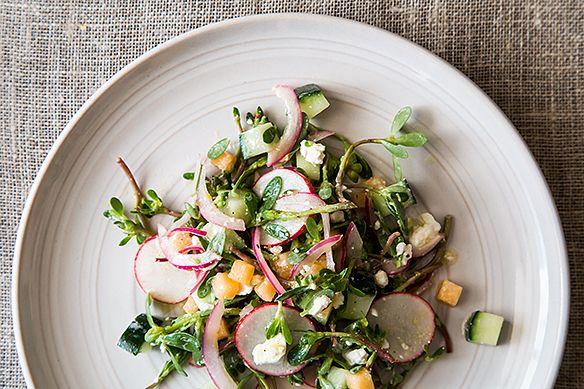 Purslane Salad from Food52