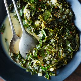 Forget Kale and Make Spicy, Creamy Collards Instead