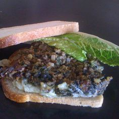 Beef and Spinach Meatloaf with a hot pepper kick