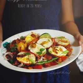 Egg masala stir fry