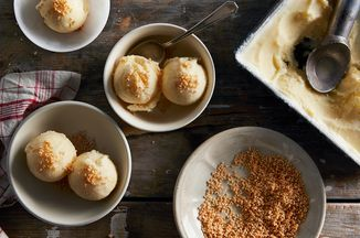 Dori Sanders' No-Churn Fresh Lemon Ice Cream Recipe on Food52