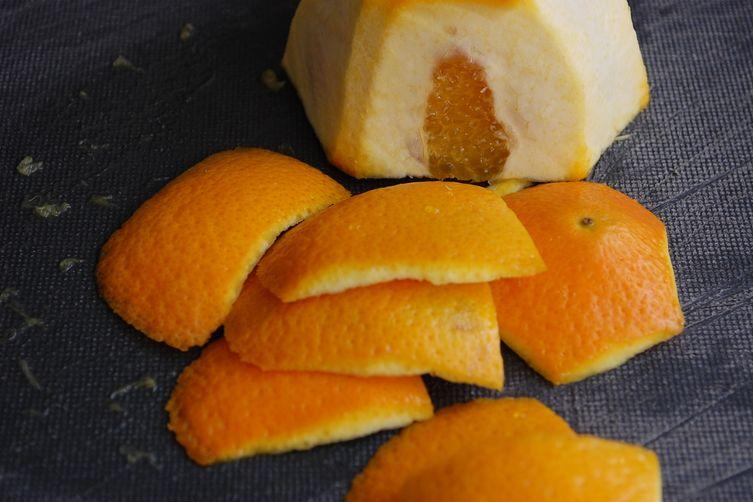 Sicilian Orange (with only a little Lemon) Raspberry Cake