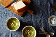 Melissa Clark's Seared Broccoli and Potato Soup