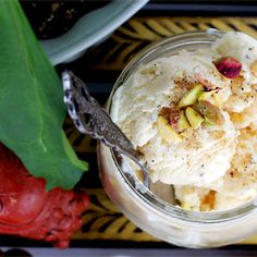 Creamy Saffron-infused Kulfi: an Indian frozen treat
