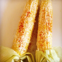 Oven Roasted Elote