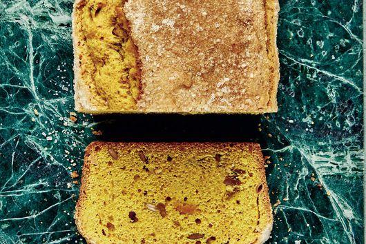 Claire Saffitz's Kabocha Turmeric Tea Cake
