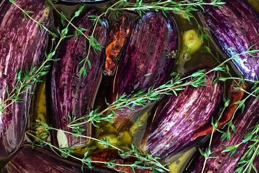 Eggplant Confit