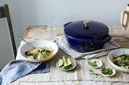 Announcing Food52 x Staub, a Line of Blue & Brass Enameled Cast Iron