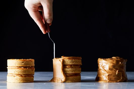 Mini Caramel Layer Cakes