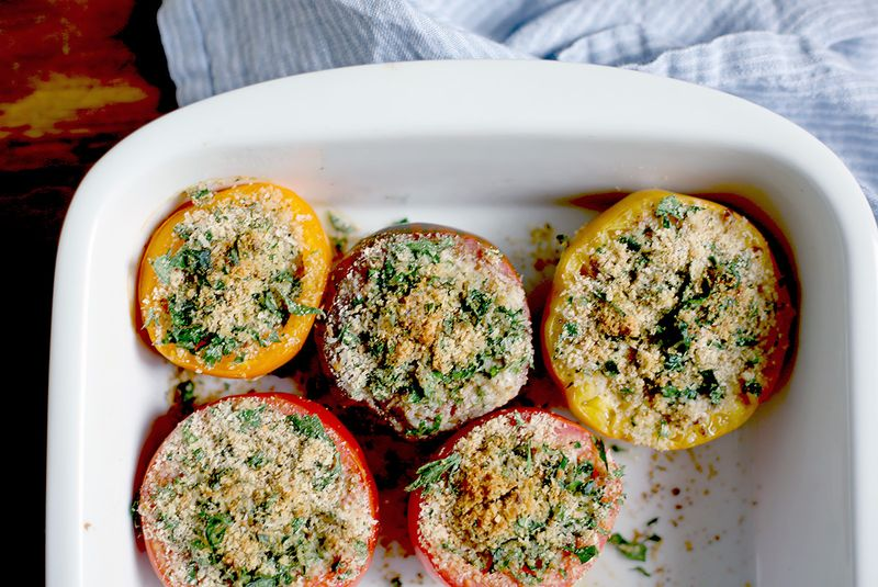 Herb Baked Tomatoes