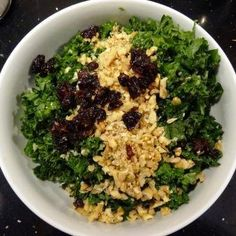 Rich & Nutty Kale Salad