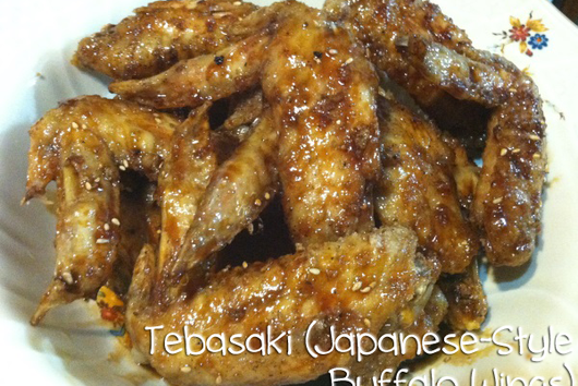Tebasaki (Japanese Style Buffalo Wings)