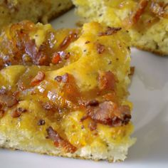 Honey Onion Bacon Bread