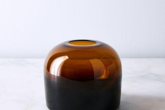 Mouthblown Glass Troll Vase