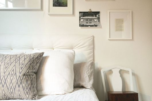 This DIY Tufted Headboard is the Big Pillow Your Bed Dreams Of