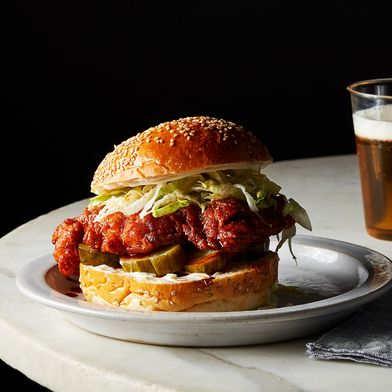 Nashville-Style Hot Chicken Sandwich