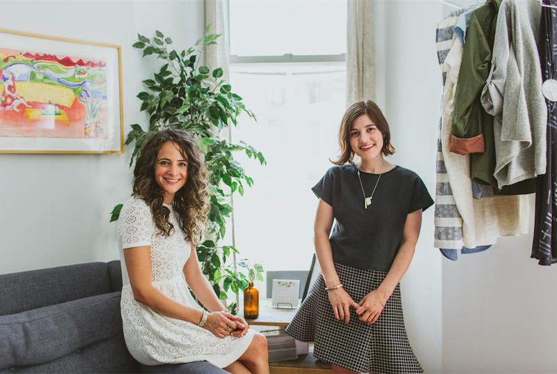 Claire Mazur and Erica Cerulo.