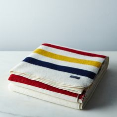 Revival Stripe Wool Throw