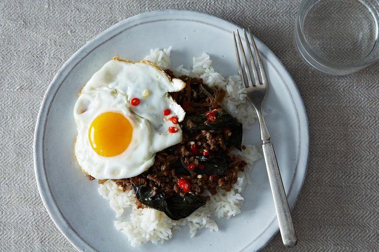 Thai Basil Stir-Fry (Put Kaprow)