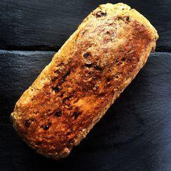 Muesli Bread with raisins, apricot and almonds