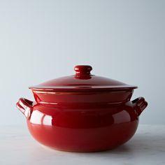 Vulcania Italian Clay Bean Pot (6 qt.)